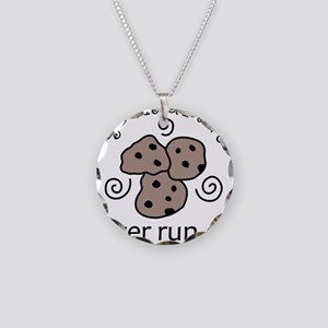 Cookies Necklace Circle Charm
