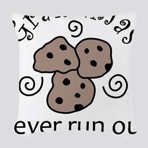Cookies Woven Throw Pillow