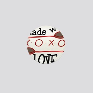 Made With Love Mini Button