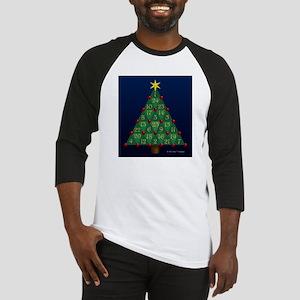 Advent Sum Christmas Tree Baseball Jersey