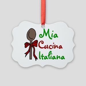 Italiana Picture Ornament