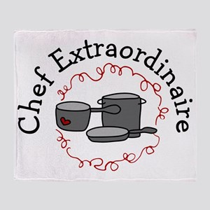 Chef Extraordinaire Throw Blanket