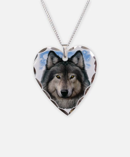 Wolf Head 2 Necklace