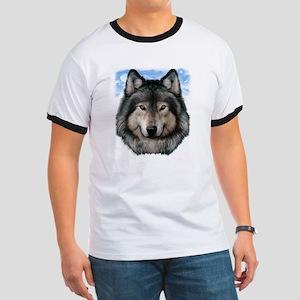 Wolf Head 2 Ringer T