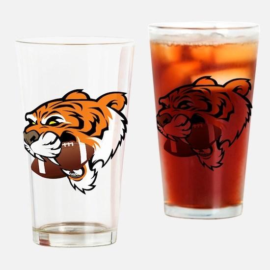 Unique Clemson Drinking Glass