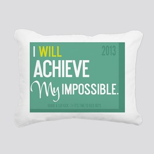 calendar 2013 TimeToKick Rectangular Canvas Pillow