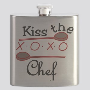 Kiss The Chef Flask