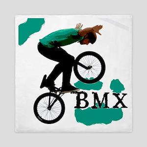 BMX ink blot Queen Duvet