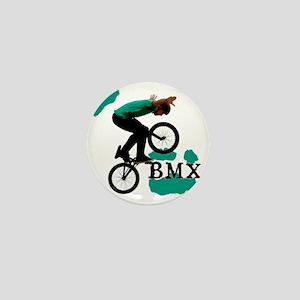 BMX ink blot Mini Button