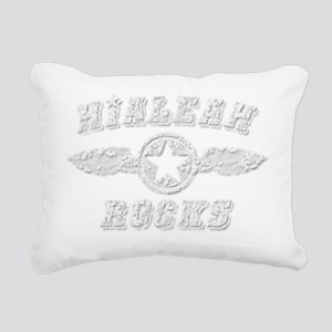 HIALEAH ROCKS Rectangular Canvas Pillow