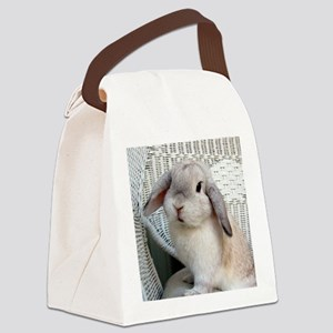 Scooter Necklace Canvas Lunch Bag