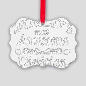 dietitian Picture Ornament