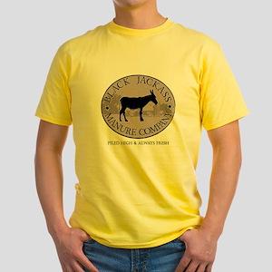Black Jackass Manure Co. T-Shirt