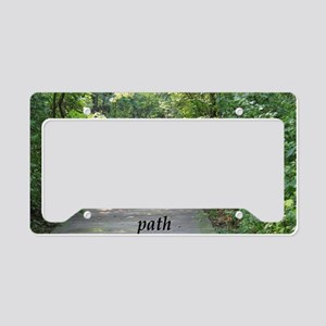 find your path License Plate Holder