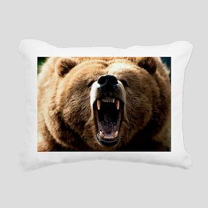 Grizzzly Rectangular Canvas Pillow