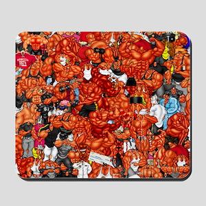 MUSCLEHEDZ CHARACTERS Mousepad