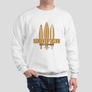 Long Board Surfer Sweatshirt