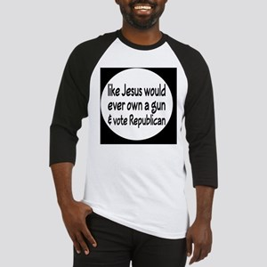 republicanjesusbutton Baseball Jersey