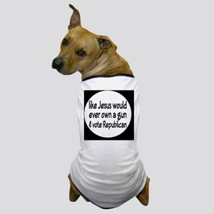 republicanjesusbutton Dog T-Shirt
