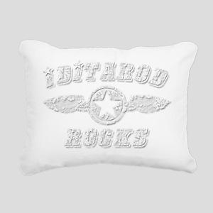 IDITAROD ROCKS Rectangular Canvas Pillow