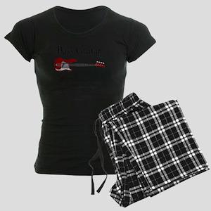 Bass Guitar LFG Women's Dark Pajamas