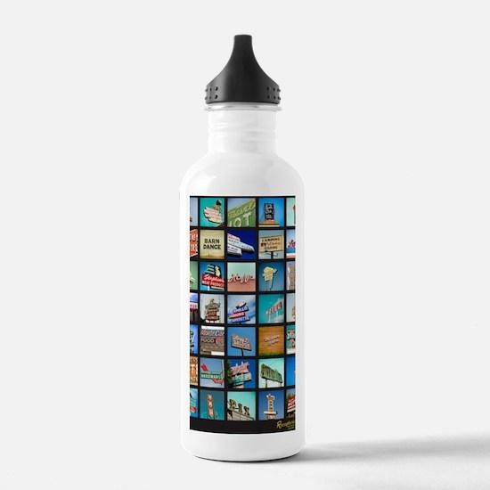 Mid-Century Vintage Si Water Bottle
