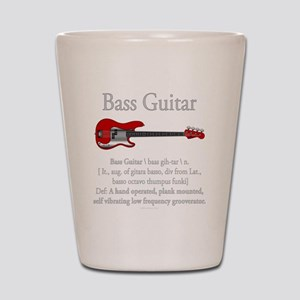 Bass Guitar LFG Shot Glass