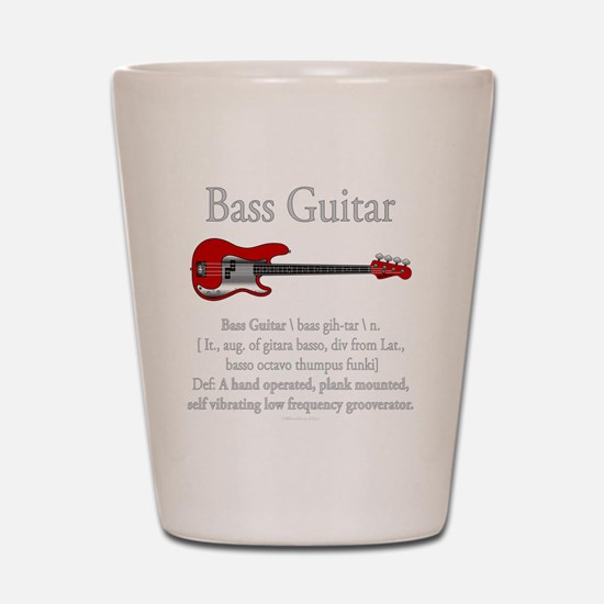 Bass Guitar LFG Shot Glass