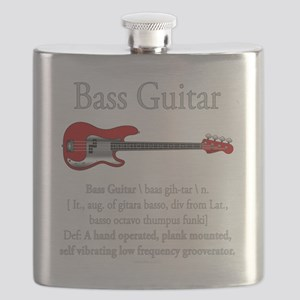 Bass Guitar LFG Flask
