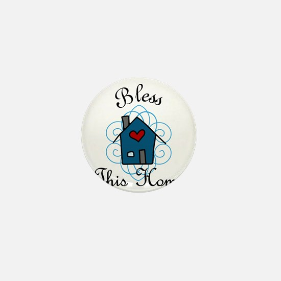 Bless This Home Mini Button