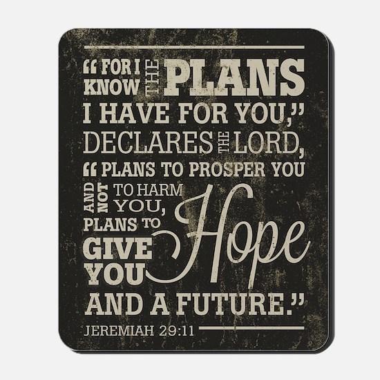 Hope and a Future Mousepad