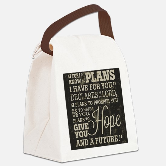 Hope and a Future Canvas Lunch Bag