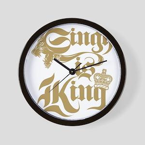Singh Is King Wall Clock