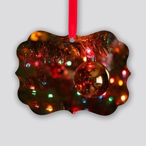 Christmas Reflection Picture Ornament