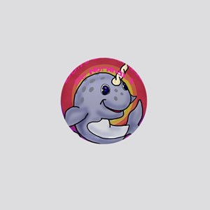 Narwhal Mini Button