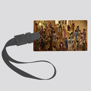 cal_pentecost Large Luggage Tag