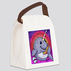 Narwhal Canvas Lunch Bag
