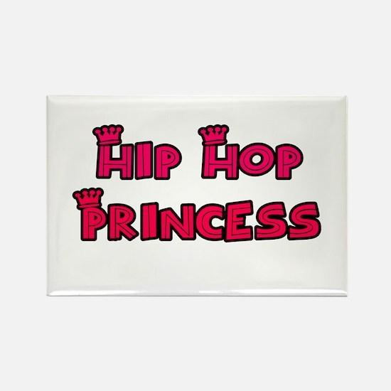 Hip Hop Princess Rectangle Magnet