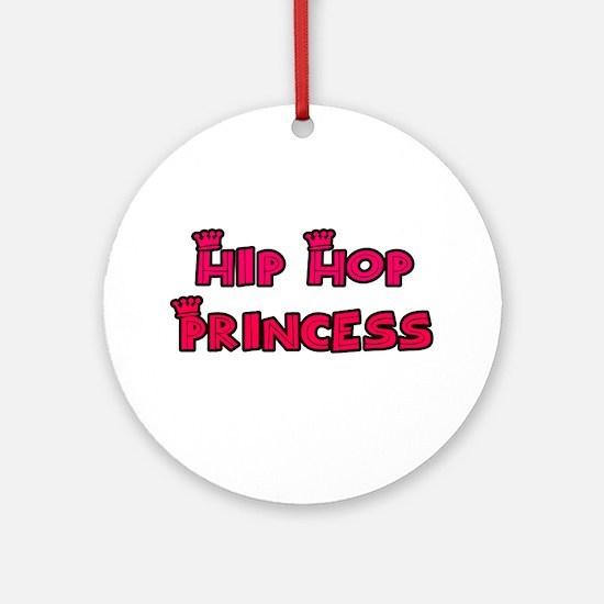 Hip Hop Princess Ornament (Round)