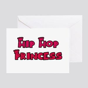Hip Hop Princess Greeting Cards (Pk of 10)