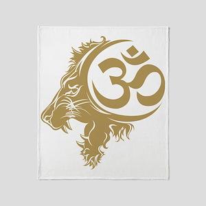 Singh Aum 1 Throw Blanket