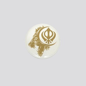 Singh Sikh Symbol 1 Mini Button