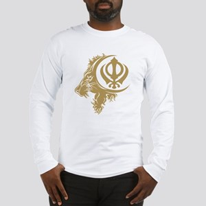 Singh Sikh Symbol 1 Long Sleeve T-Shirt
