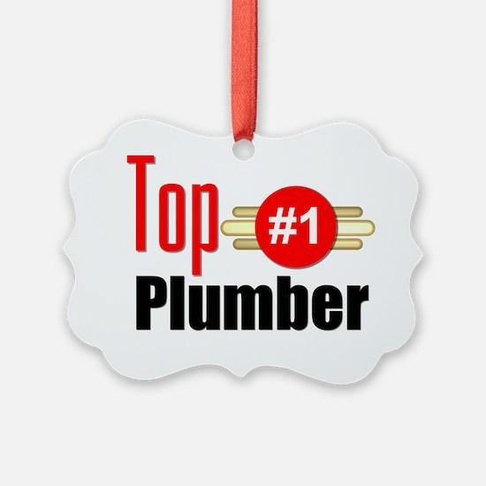 Top Plumber Ornament