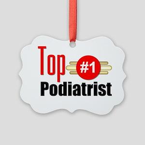 Top Podiatrist  Picture Ornament