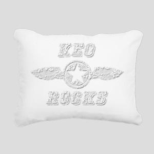 KEO ROCKS Rectangular Canvas Pillow