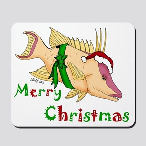 Holiday Hogfish Mousepad