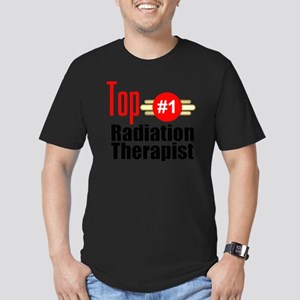 Top Radiation Therapis Men's Fitted T-Shirt (dark)