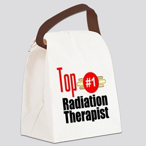 Top Radiation Therapist  Canvas Lunch Bag