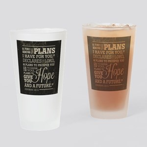 Hope and a Future Drinking Glass